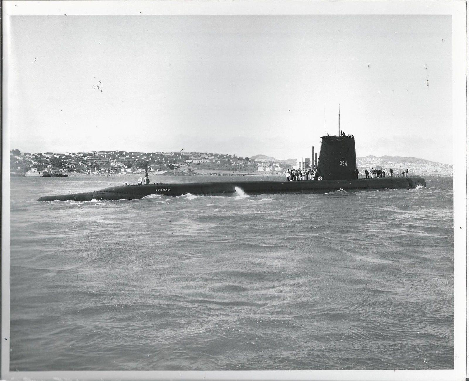 USS Razorback circa 1965