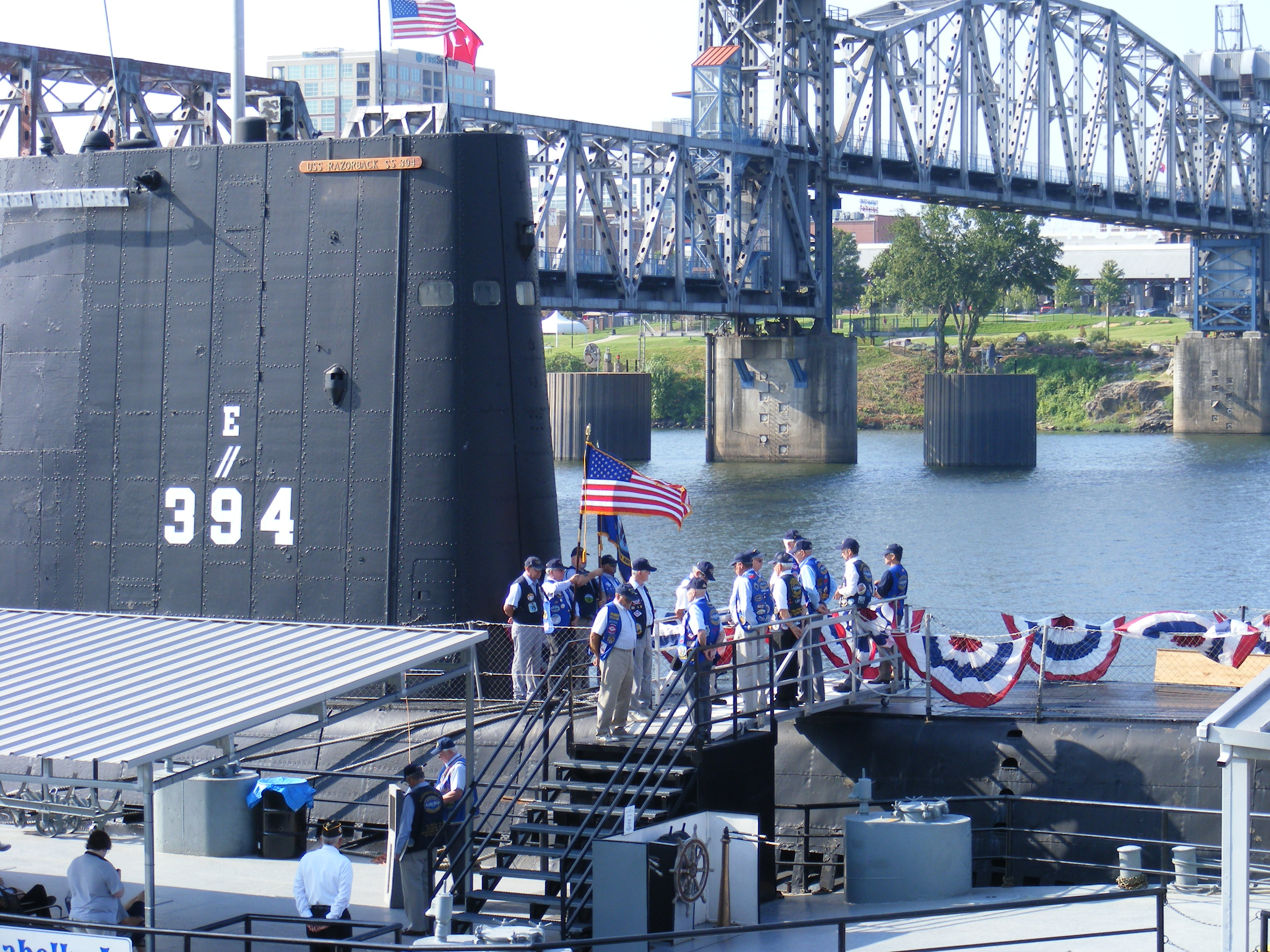 Memorial Ceremony aboard USS Razorback