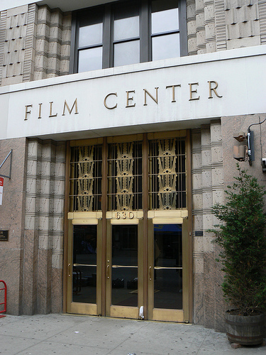 Entrance to the Film Center Building