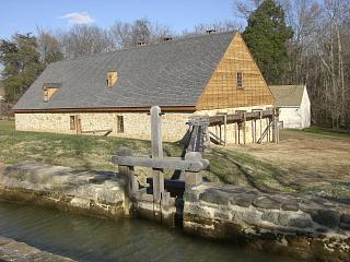Reconstruction of Washington's Distillery