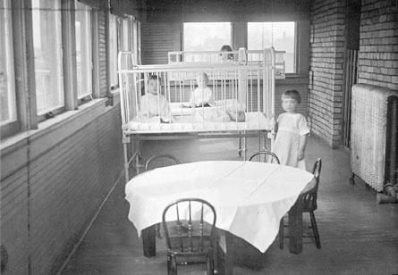 Inside a Florence Crittenton Home (in Fargo)