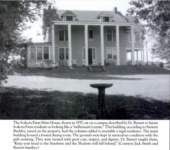 The Main House at the Ivakota Farm.