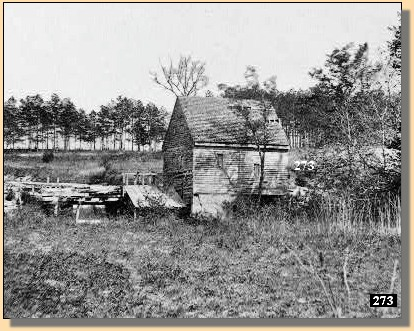 Ellerson Mill, where most of the battle raged around. This photo was taken sometime during the war