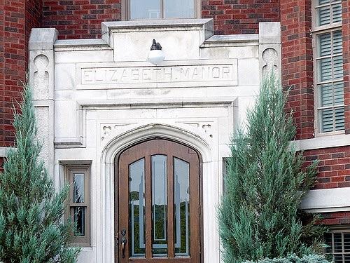 Elizabeth Manor door detail