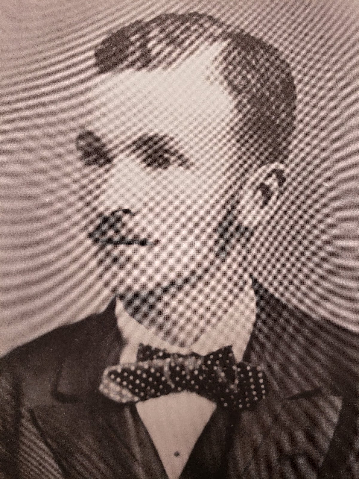 Charles Chesnutt: age 21 in 1879, just before taking over as principal of State Colored Normal School in Fayetteville.