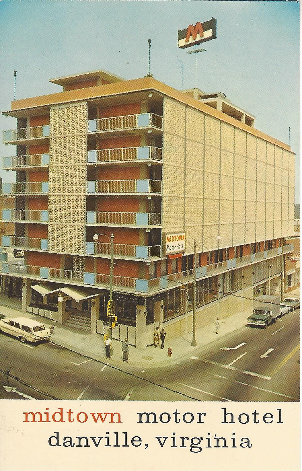 """The Burton was replaced in 1962 by the Midtown Motor Hotel (renamed and more commonly known as the Downtowner Motor Inn), the same year that the """"Twist"""" changed the dance world forever and virtually brought an end to popular ballroom dancing."""