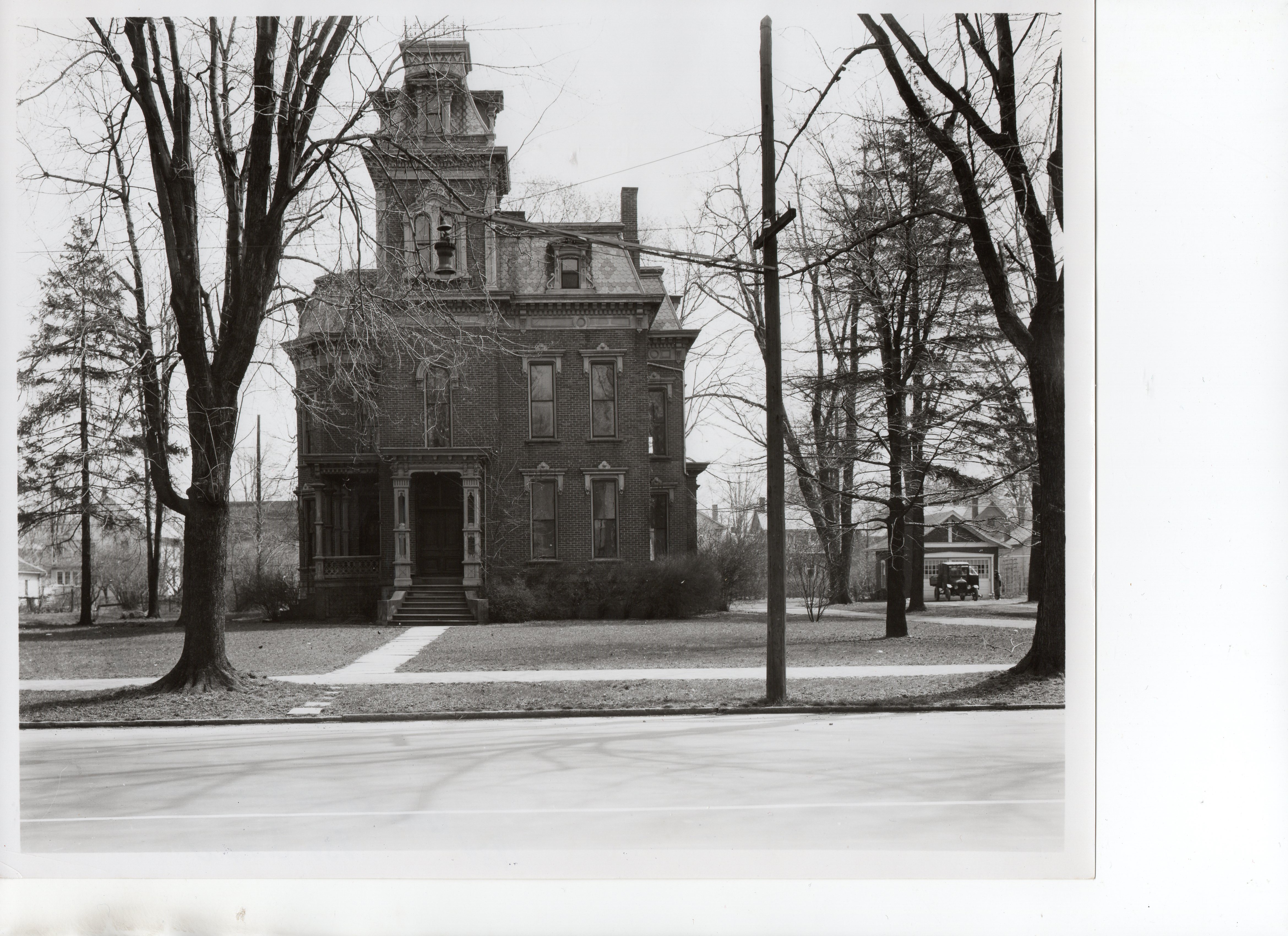 Second Empire Style razed in 1934 (South Main Street Collection)