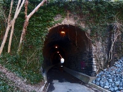 Wilkes Street Tunnel East End. Source: Allen C. Browne, March 15, 2014.