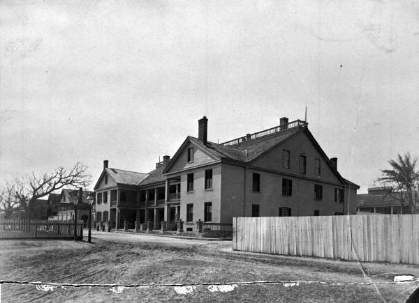 St. Francis Barracks - St. Augustine, Florida. ca 1885