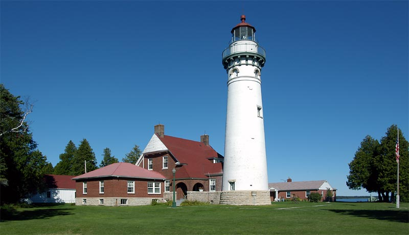 Seul Choix Lighthouse. Photo: Terry Pepper