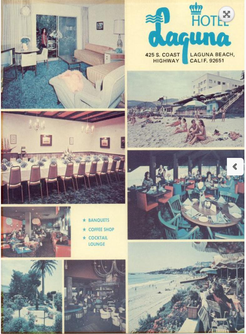 Hotel Laguna Brochure - 1960s