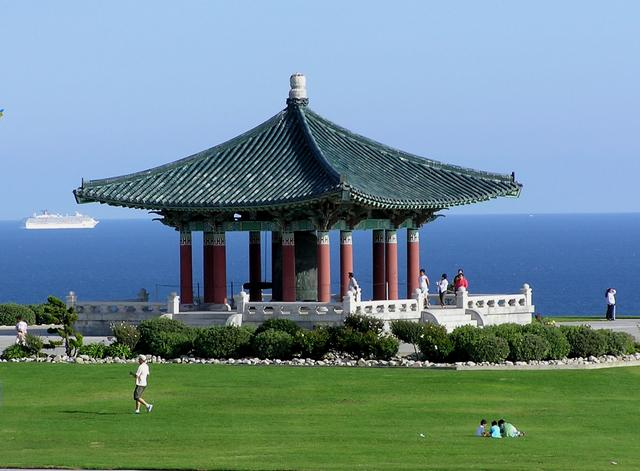 Korean Bell of Friendship and Pavilion