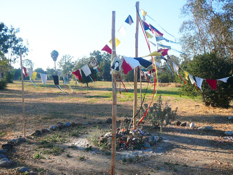 A picture of The Puvungna Indian Village Site.