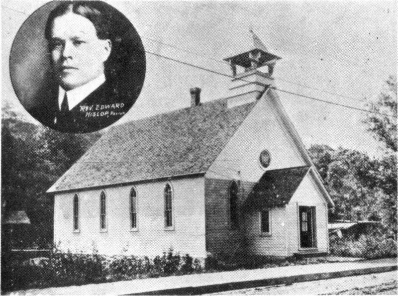 The church was originally built as a wooden clapboard structure in 1887 for a Methodist congregation.