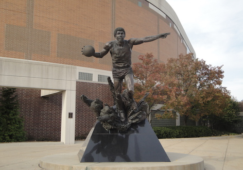 "The Earvin ""Magic"" Johnson Statue"
