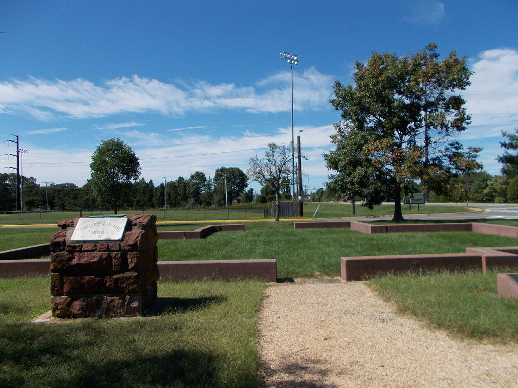 Site where the Manassas Industrial School once stood