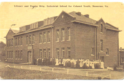 Library and Trades Building at the Manassas Industrial School
