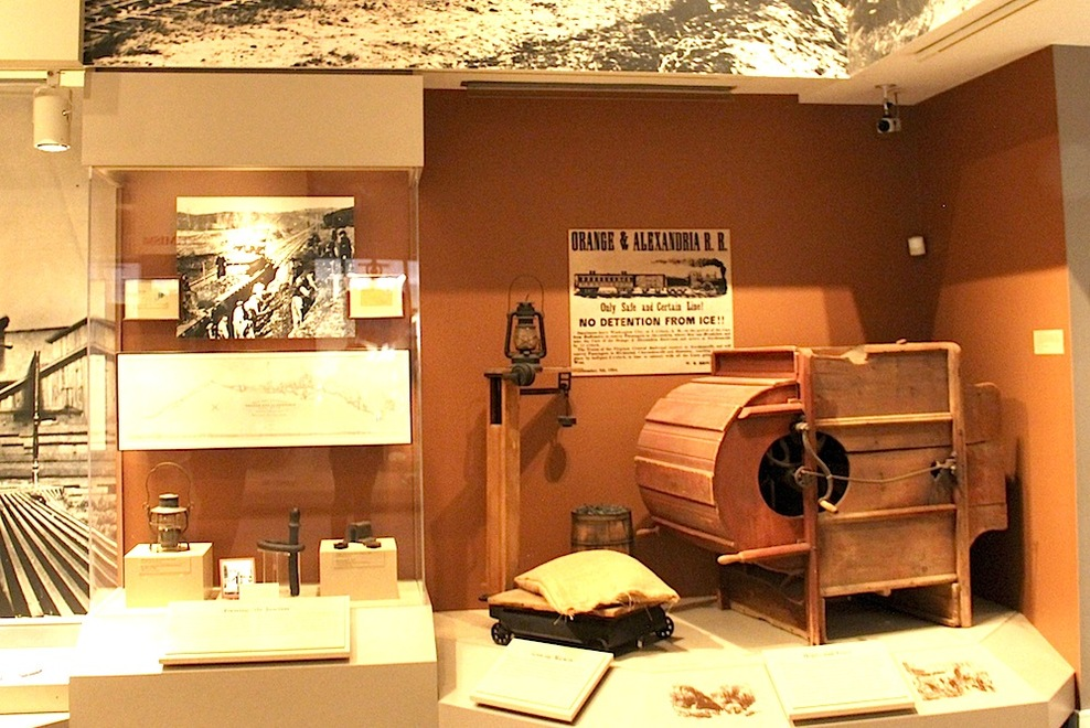 Exhibits within the Manassas Museum