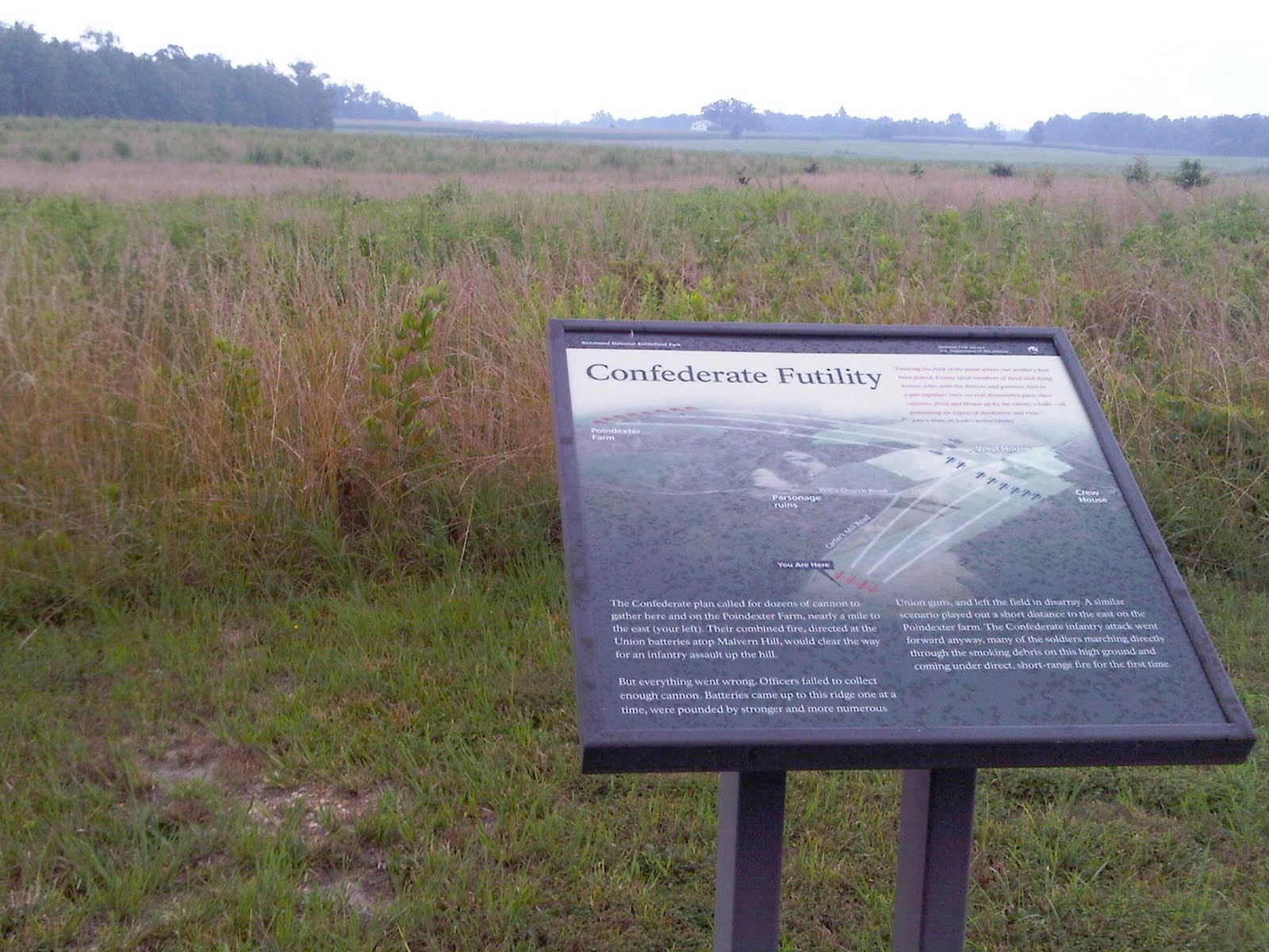 The title of this interpretive sign reveals all.