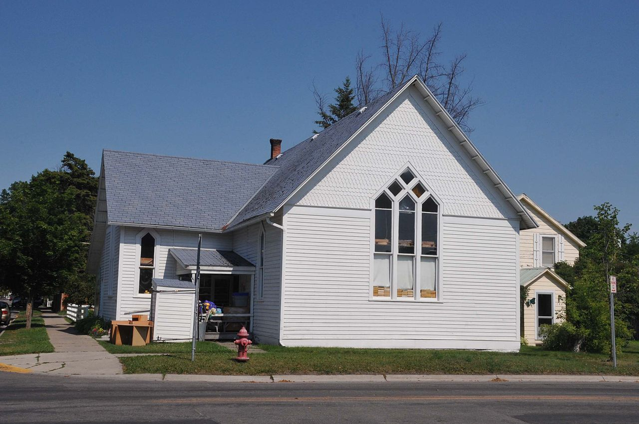 A thrift store for several decades, the Scandinavian Methodist Church is one of the oldest churches in Kalispell.