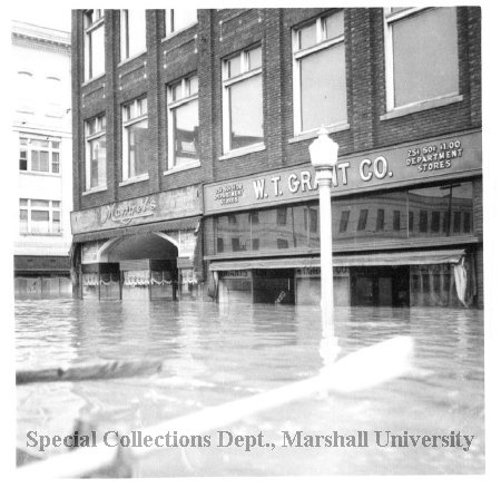 W.T. Grant Co. and Mangel's during the 1937 flood