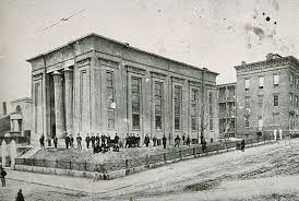Circa 1860s photo of the building. Courtesy of VCU Libraries, Tompkins-McCaw Library, Special Collections & Archives