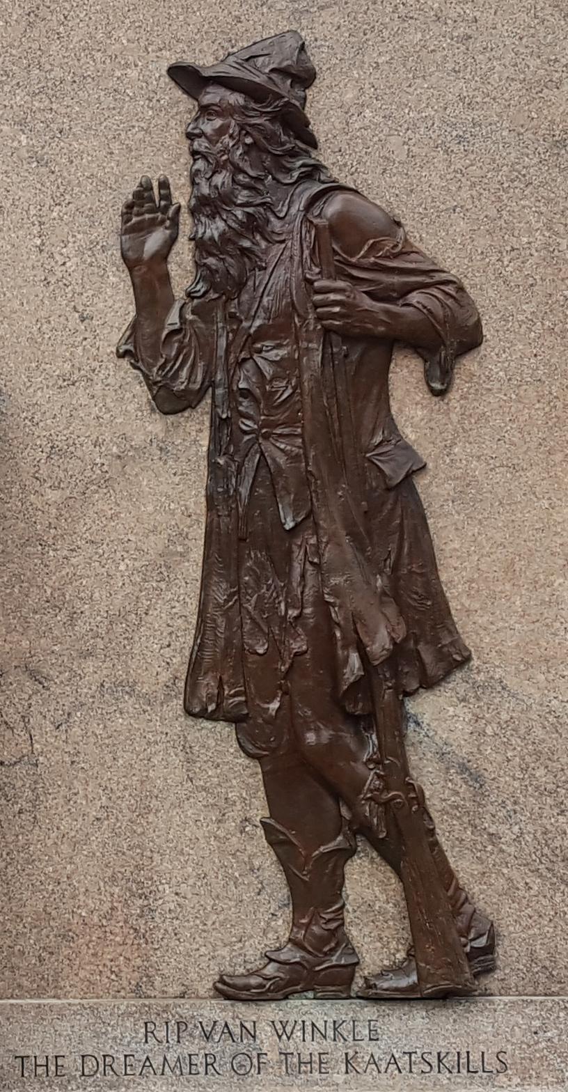 Relief of Rip Van Winkle.