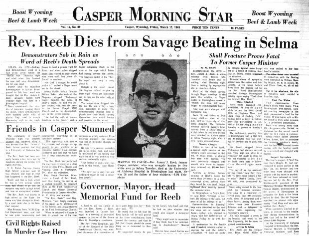 News article during the time of Reebs Death.
