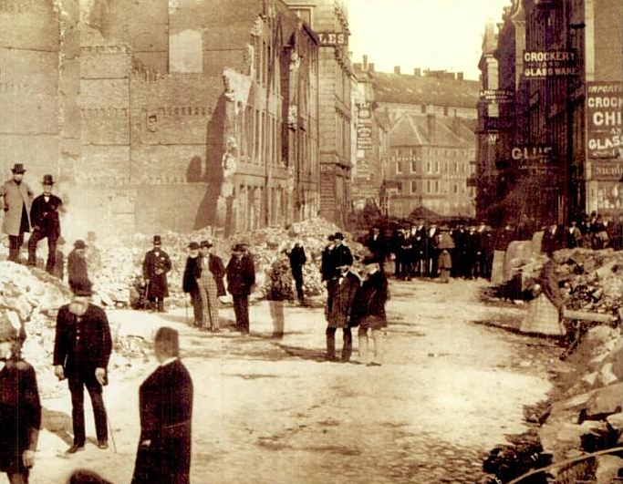 After the 1872 fire (image from Wikimedia)