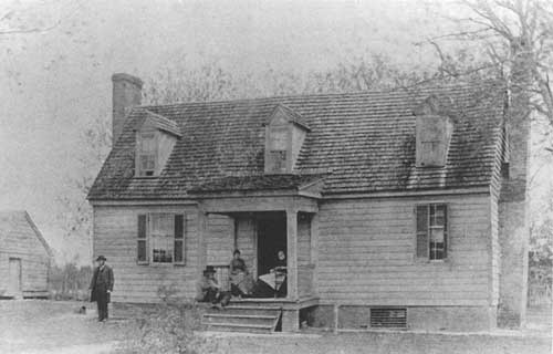The Watt House around the time of the Civil War