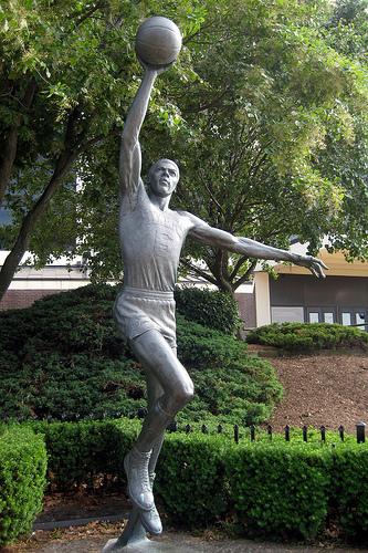 Dr. J statue