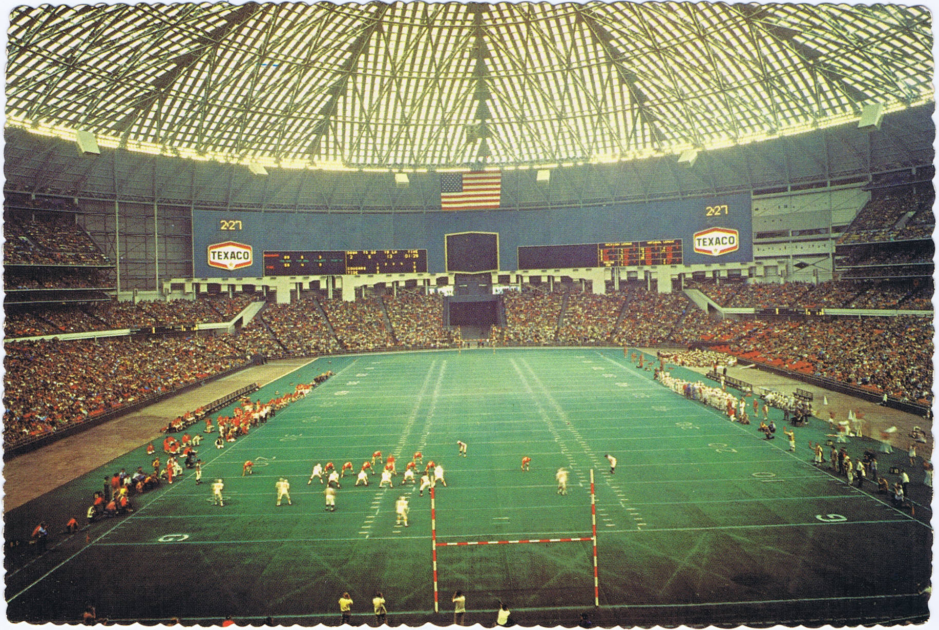The Astrodome was home to the Houston Oilers prior to the team's move to Tennessee