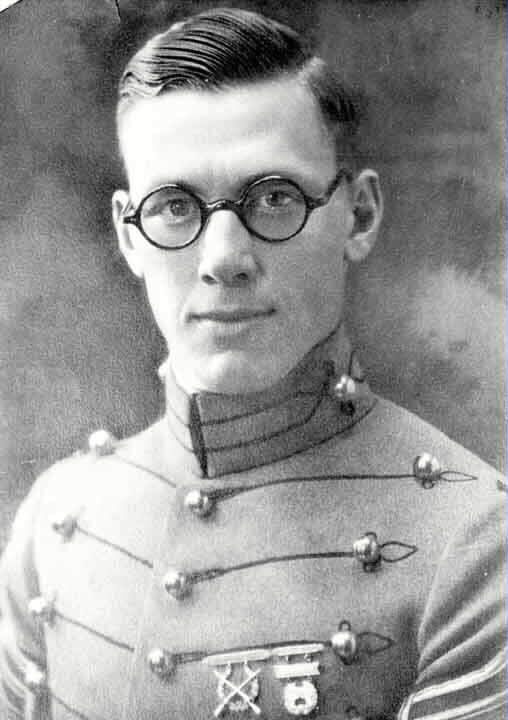 Toftoy as a cadet at West Point. Courtesy of Arlingtoncemetery.net