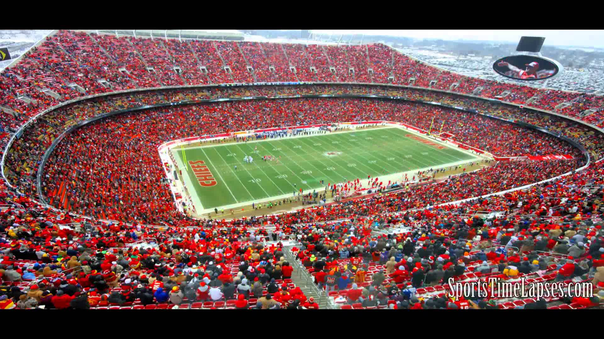 Arrowhead Stadium was completed in 1972 and holds the world record for the loudest stadium in professional sports.