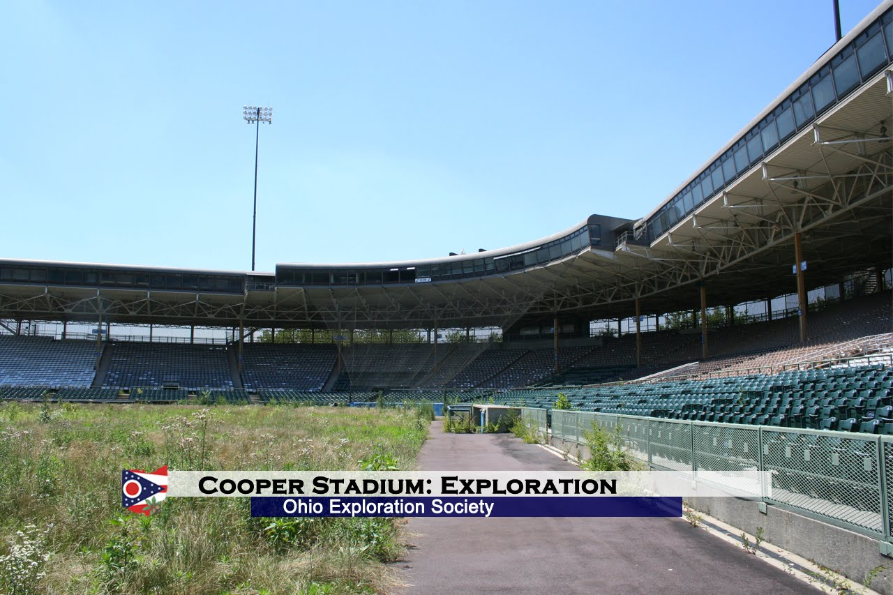 Cooper Stadium after it closed in 2009