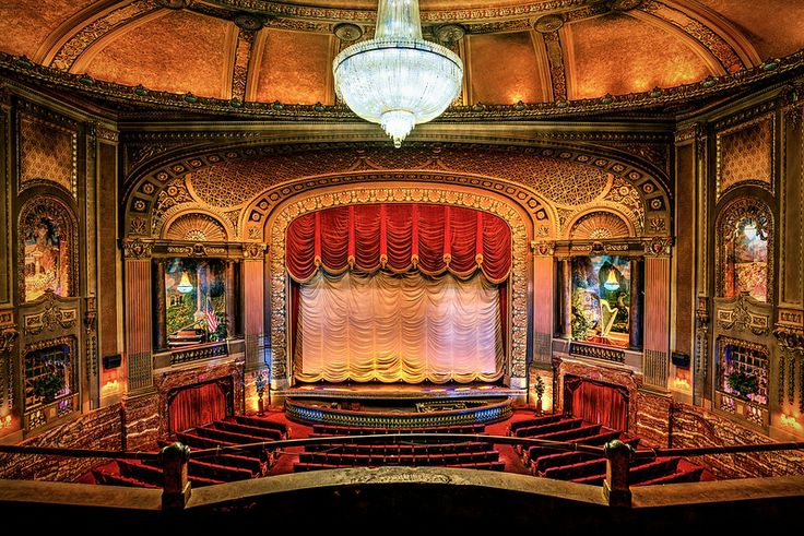The Byrd's main auditorium.