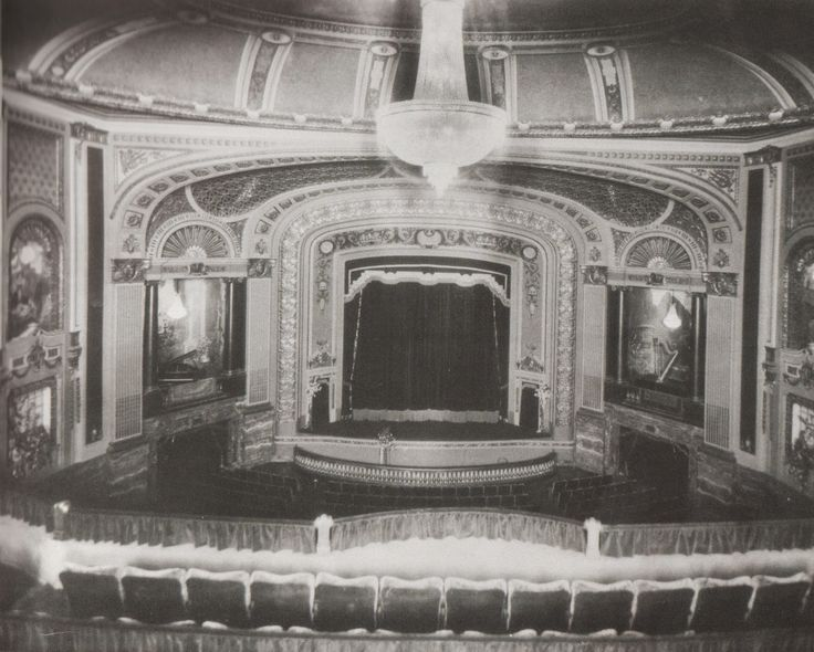 Amphitheater as it looked in 1929