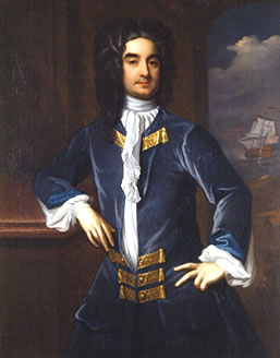 William Byrd II, the namesake of the theatre