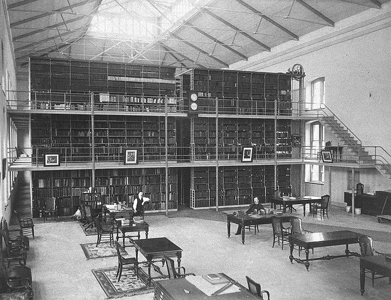 Interior view of the Surgeon General's library