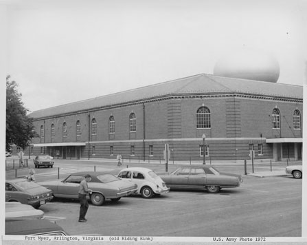 Old Riding Rink in 1972 (http://www.historic-fortmyer.com/)