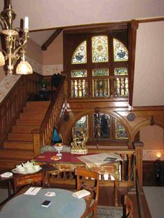Staircase inside Maymont
