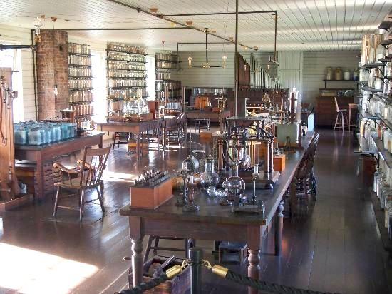 Inside Thomas Edison's Menlo Park laboratory