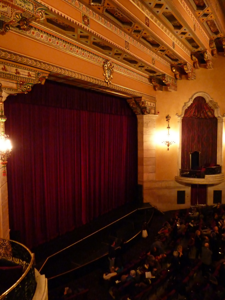 Inside Music Hall