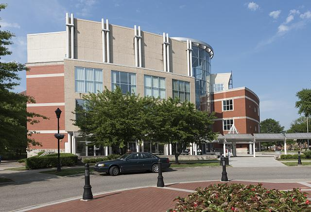 The John Deaver Drinko Library opened in 1998 and provides an array of research, technology, and study opportunities for students.