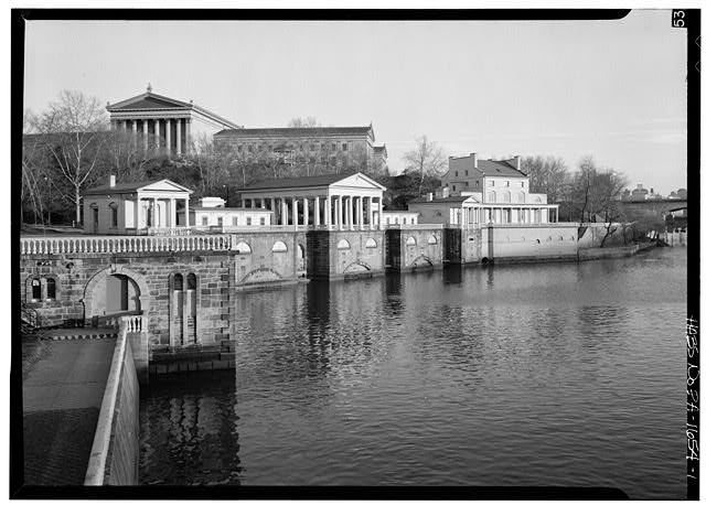 Fairmount Waterworks (image from Workshop of the World - Philadelphia)