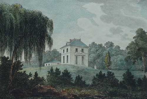 Solitude House in the 18th century (image from University of Pennsylvania)