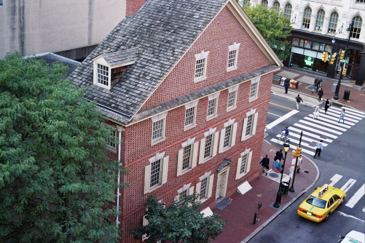 Declaration House (image from Constitutional Walking Tours)