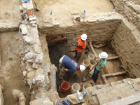President's House archaeological excavation (image from the City of Philadelphia)