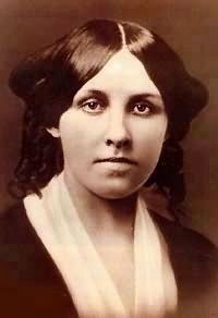 Louisa May Alcott, age 20 (image from Wikimedia)