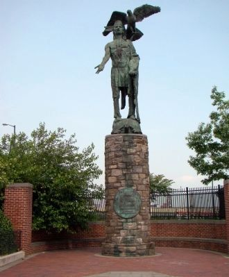 Tamanend Monument (image from Historic Marker Database)